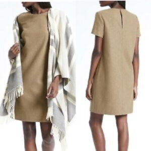 Banana Republic Gold Shift Dress